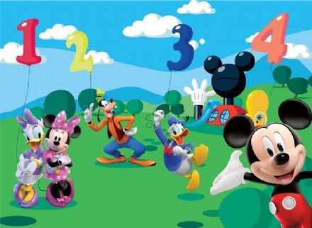 XL Disney Mickey Mouse Club House wall mural
